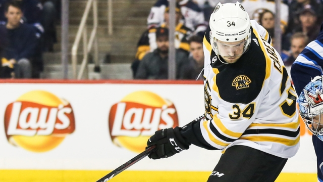 Bruins winger Paul Carey