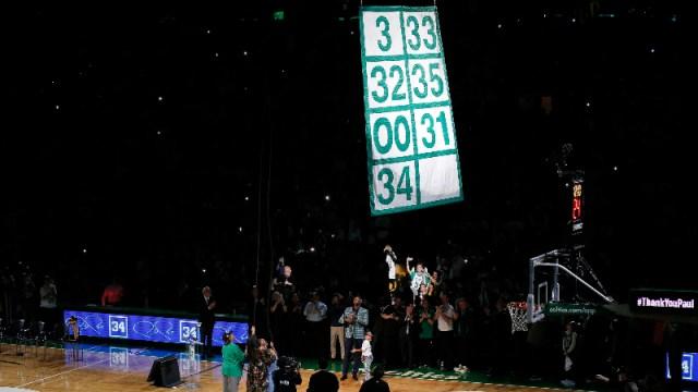 Former Boston Celtics forward Paul Pierce