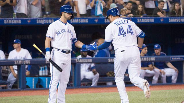 Toronto Blue Jays first baseman Rowdy Tellez