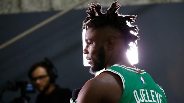 Celtics forward Semi Ojeleye
