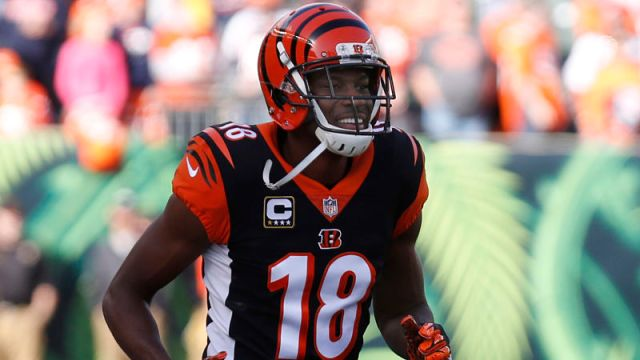 Cincinnati Bengals receiver A.J. Green