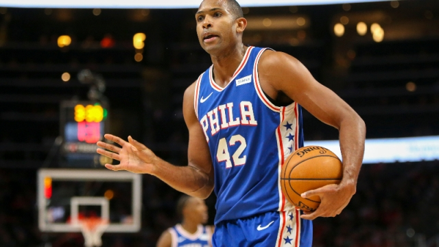 Philadelphia 76ers center Al Horford