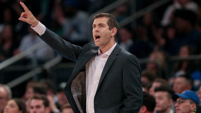 Boston Celtics' Brad Stevens
