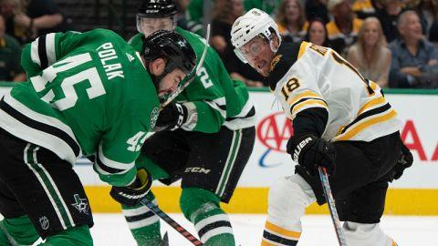 Boston Bruins forward Brett Ritchie