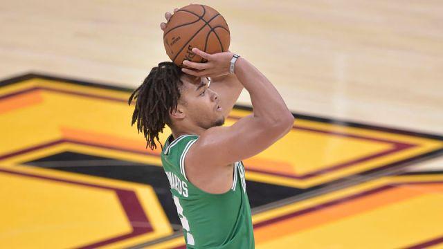 Boston Celtics guard Carsen Edwards