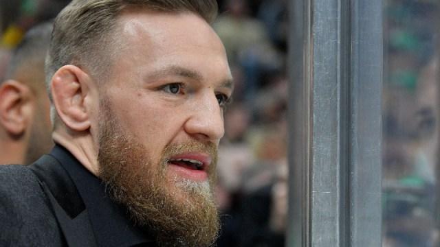 Irish mix martial artist Conor McGregor