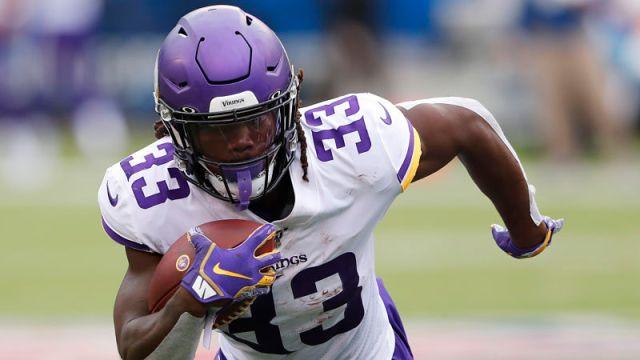 Minnesota Vikings running back Dalvin Cook