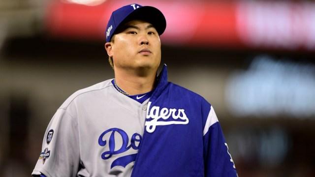 Dodgers pitcher Hyun-Jin Ryu