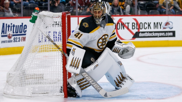 Boston Bruins' Jaroslav Halak