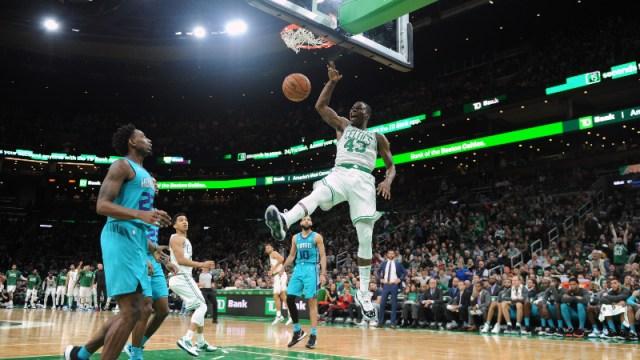 Boston Celtics guard Javonte Green (43)