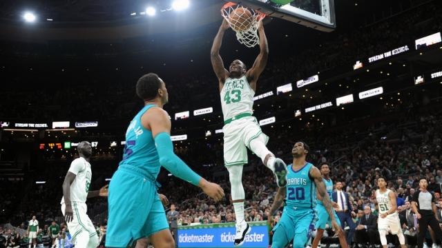 Boston Celtics Guard Javonte Green