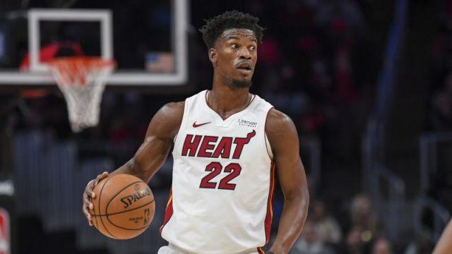 Miami Heat shooting guard Jimmy Butler