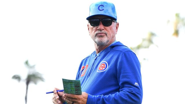 Former Chicago Cubs manager Joe Maddon
