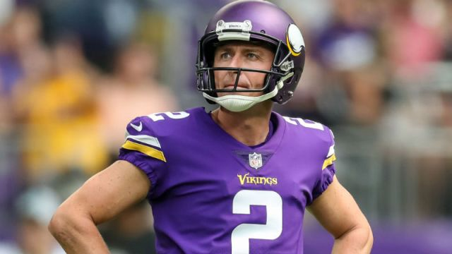 Minnesota Vikings kicker Kai Forbath
