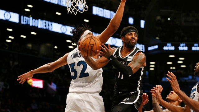 Nets guard Kyrie Irving