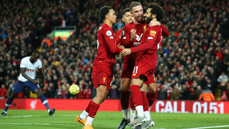 Liverpool Vs. Tottenham: Mohamed Salah's PK Goal Lifts Reds Over Spurs