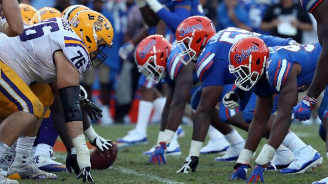 LSU, Florida football