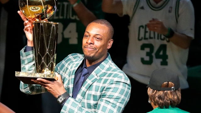 Former Boston Celtics forward Paul Pierce