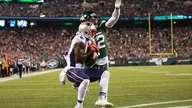Patriots wide receiver Phillip Dorsett