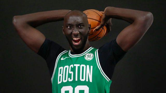 Boston Celtics center Tacko Fall