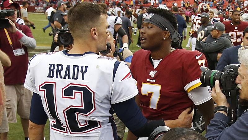 Dwayne Haskins Shows Appreciation For Tom Brady In ...