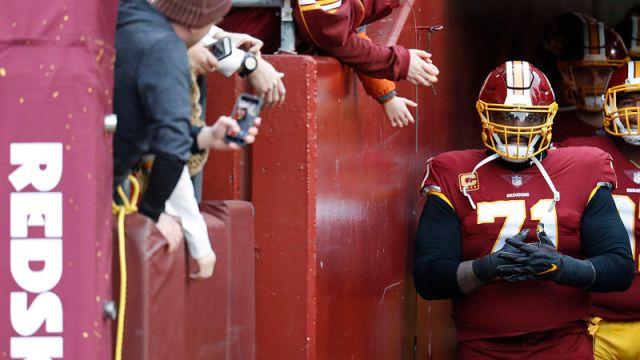 Washington Redskins offensive tackle Trent Williams