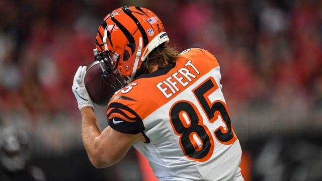 Cincinnati Bengals tight end Tyler Eifert