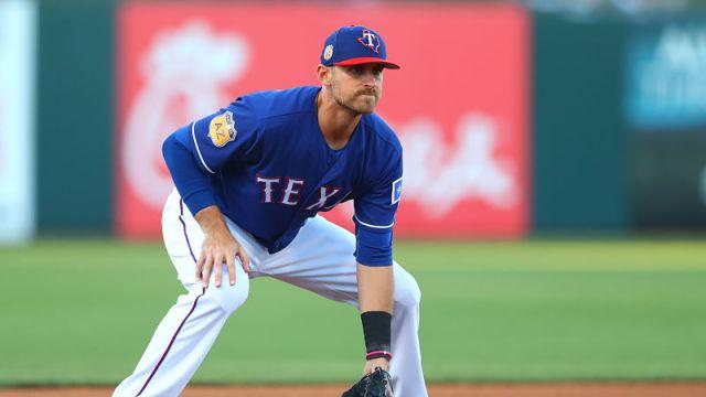 Texas Rangers third baseman Will Middlebrooks