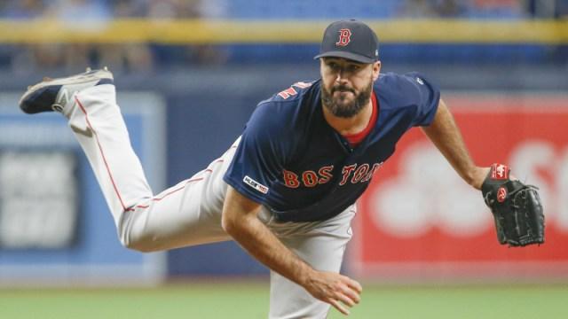 Boston Red Sox reliever Brandon Workman
