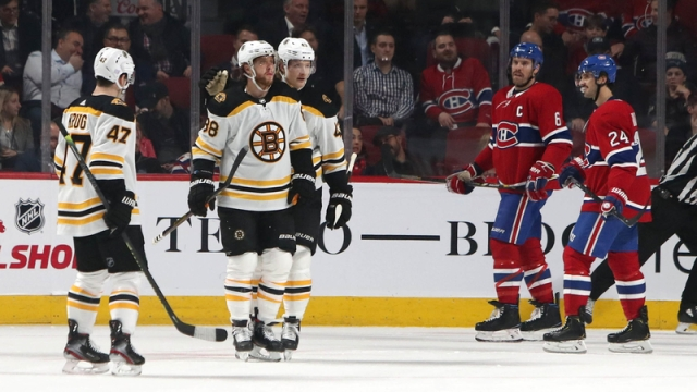 Boston Bruins Vs. Montreal Canadiens