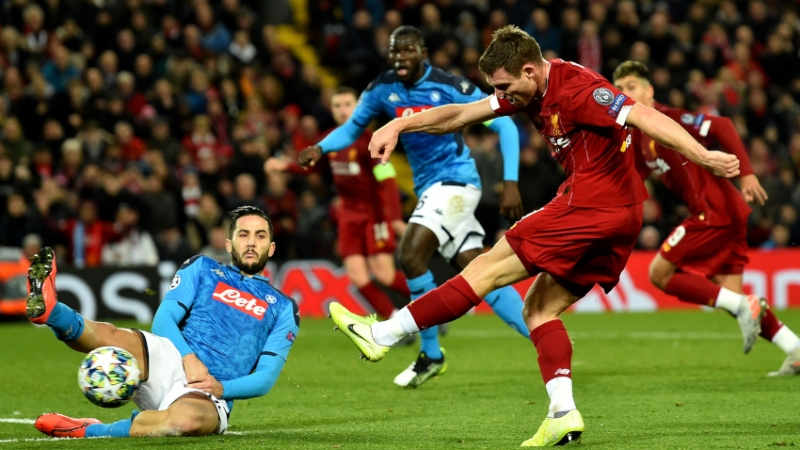 Liverpool Vs. Napoli: Score, Highlights Of UEFA Champions League Game