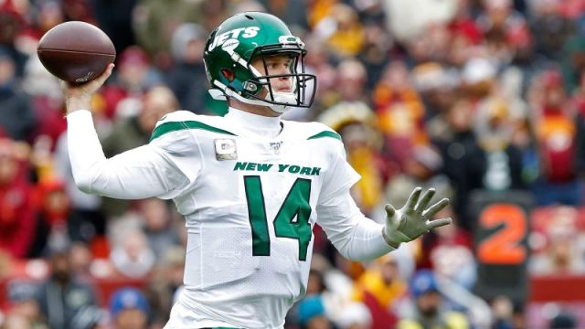 New York Jets quarterback Sam Darnold