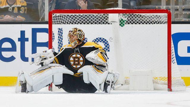 Boston Bruins goaltender Tuukka Rask