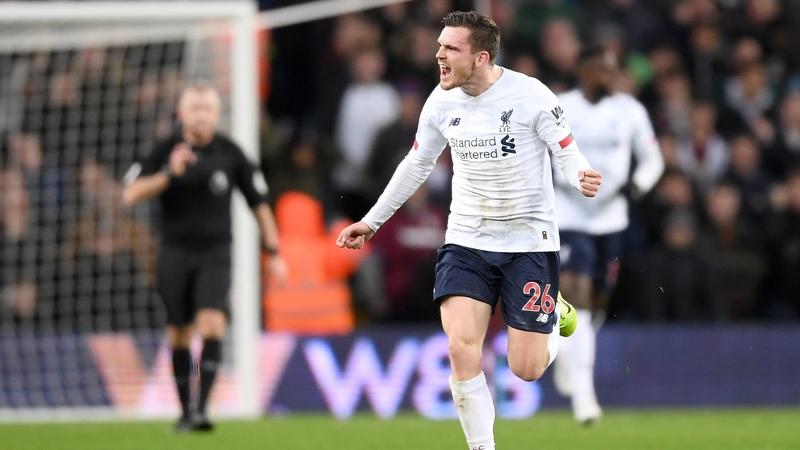 Aston Villa Vs. Liverpool: Andrew Robertson, Sadio Mane Strike Late In Dramatic Win