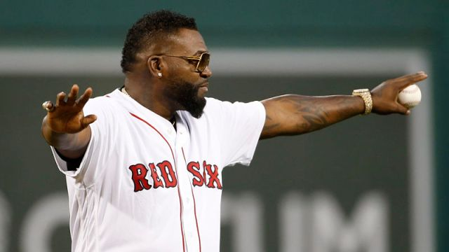 Former Boston Red Sox player David Ortiz