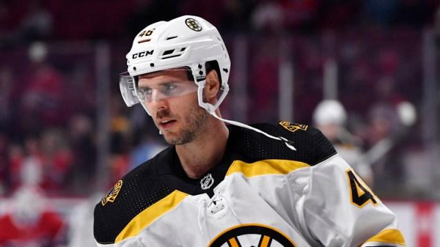 Boston Bruins' David Krejci