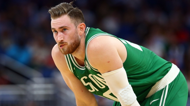 Boston Celtics' Gordon Hayward