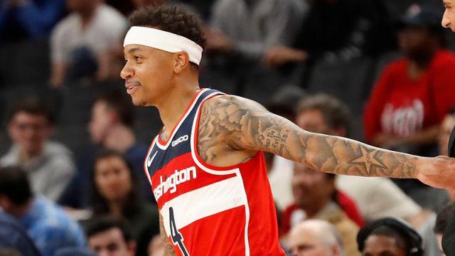 Washington Wizards guard Isaiah Thomas