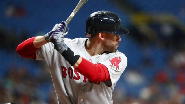 Boston Red Sox slugger J.D. Martinez