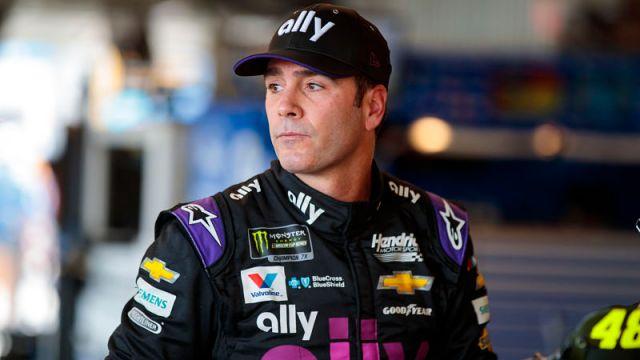 NASCAR driver Jimmie Johnson