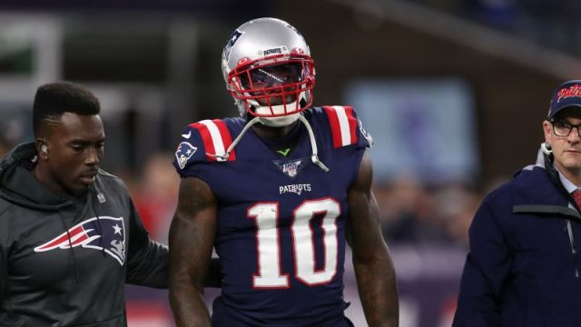 New England Patriots wide receiver Josh Gordon