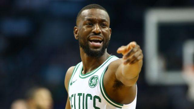 Boston Celtics point guard Kemba Walker