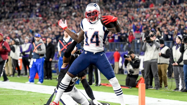 Patriots receiver Mohamed Sanu