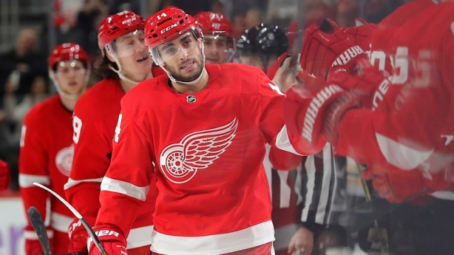 Detroit Red Wings Center Robby Fabbri