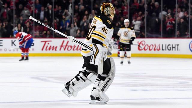 Bruins goalie Tuukka Rask