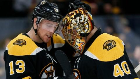Boston Bruins' Tuukka Rask