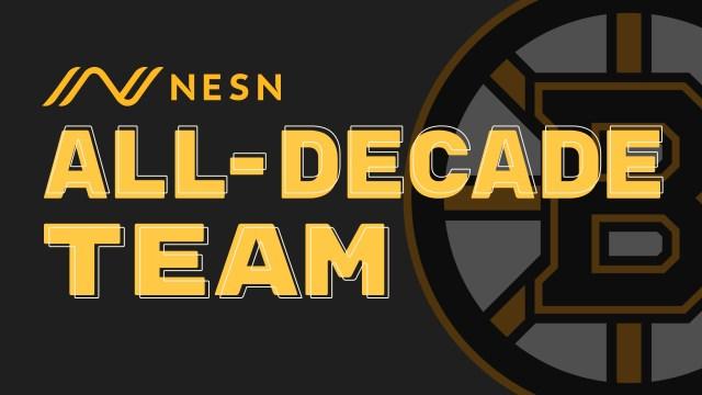 Boston Bruins All-Decade Team