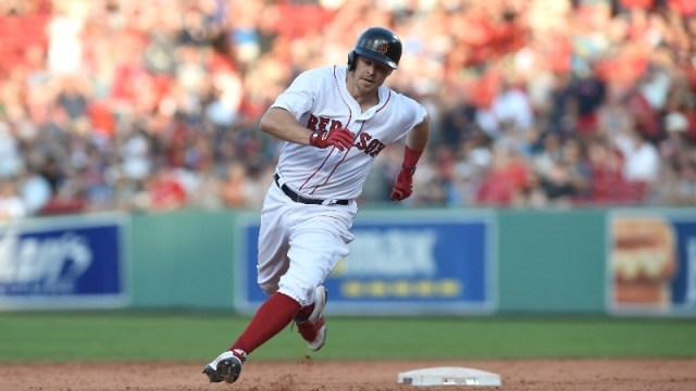 MLB infielder Brock Holt