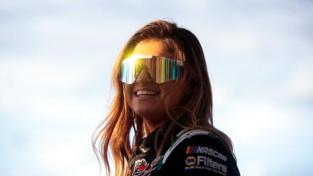 NASCAR K&N Pro Series driver Hailie Deegan