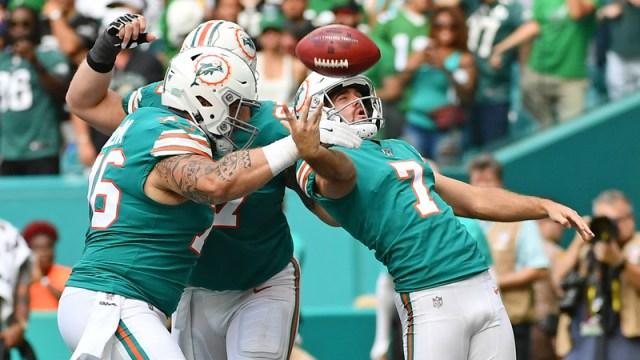 Miami Dolphins Kicker Jason Sanders